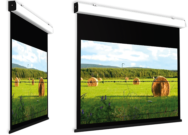 Screen International Compact Home Cinema - VA 300cm x 169cm - 16:9 Format - Electric Screen - Micro Perforated, Gain 1.1