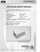 DATA SHEET LOW VOLTAGE CONTACT INTERFACE