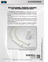 DATA SHEET MULTICHANNEL REMOTE CONTROL WITH TWO EXTERNAL RECEIVERS