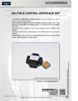 DATA SHEET MULTIPLE CONTROL INTERFACE SET