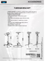 DATA SHEET T-MEDIUM BRACKET