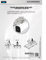 DATA SHEET TRUSS MOUNTING BRACKET COMPACT – MAJOR