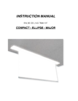 INSTALLATION INSTRUCTIONS FALSE CEILING KIT COMPACT-MAJOR