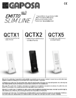INSTALLATION INSTRUCTIONS MULTICHANNEL REMOTE CONTROL 868 MHZ
