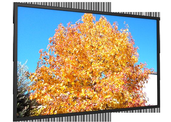 Flat Max Fixed Frame - 500cm x 313cm - 16:10 Screen, White Screen Surface Gain 1.2 - Has Seam
